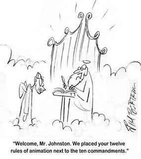 A cartoon tribute from Jim Bertram.