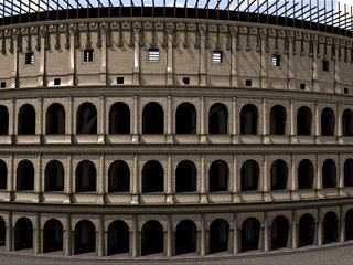 The Coliseum has never looked so good.