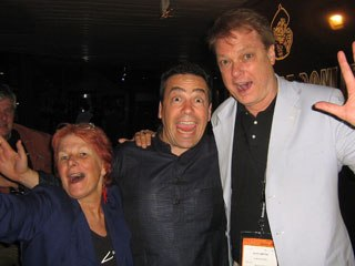 Nancy Denney-Phelps, Serge Bromberg and Bill Plympton introduce Annecy Plus.