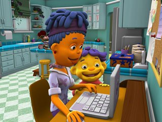 Sid's tech-savvy mom probably understands the challenges of bringing a high-quality CG series to TV.