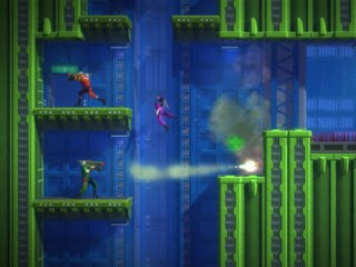 The best part about Rearmed is that now you and a friend can play through the adventure cooperatively, which makes for awesome gameplay. © Capcom.