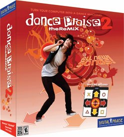 The Christian gaming industry's latest hit is Dance Praise. © Digital Praise.