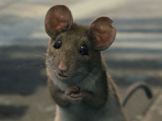 Tippett Studio's research for Manuel differed from that done for the creation of Templeton the Rat in Charlotte's Web. This time animators studied a rescued wood rat in a museum for details.