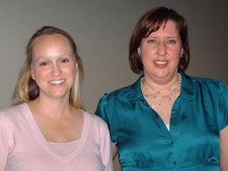 Kerry Shea and Nicole Goldman of Jim Henson's Creature Shop.
