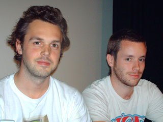 The Mill's Tom Bussell and Rob Petrie.