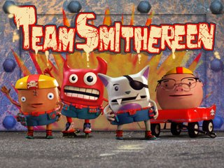 W!LDBRAIN's Team Smithereen will be the first new short-form series that Jetix will debut in Europe as an exclusive premiere on its websites. Courtesy of MIPCOM.