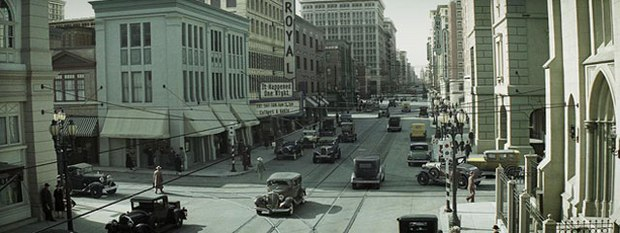 """Late '20s Los Angeles is a major character in Changeling. CIS Vancover created """"peripheral imagery"""" to transport the viewer back in time. All images © Universal. Courtesy of CIS Vancouver."""