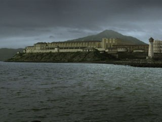 CIS Vancouver did about 90 shots for the film, including the shot of San Quentin prison, above. Pac Title created about the same number, with an emphasis on 2D shots.