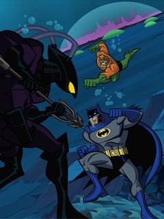 In this series, Batman teams up with such heroes from the