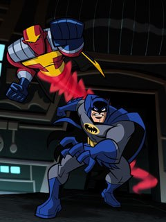 The angst is gone from this Batman, replaced by a dry sense of humor and irony. Tucker decided the Caped Crusader couldn't be brooding and unapproachable if he were to team up with fellow crime fighters.