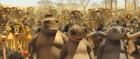 The film boasts some of the busiest, most populated shots ever rendered for a CG film. As a result, new software was developed that generated low-res, coarse level-detailed characters.