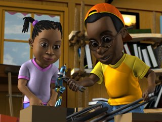 Anamazing Workshop produces animation with African themes, mostly for South Africa, like Njabulo's Bicycle. © Anamazing Workshop.