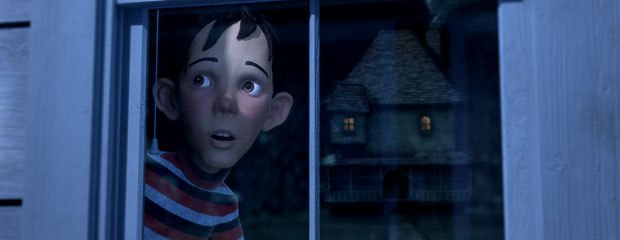 A Christmas Carol will boast a phototextural look, and will be more advanced than Monster House (above), and closer to Beowulf. © 2006 Columbia Pictures Industries Inc. and GH One LLC. All rights reserved.
