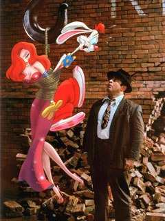 Happy 20th Anniversary to Who Framed Roger Rabbit. All images © Touchstone Pictures and Amblin Ent. Inc.