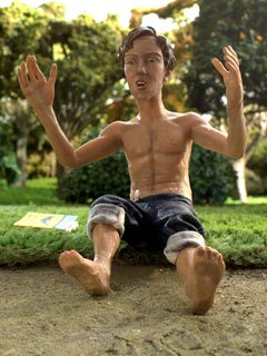 The film started with five months of pre-production in Sydney, Australia, followed by 40 weeks of stop-motion animation Down Under. Post-production took place in Israel.