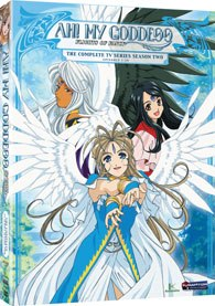 Though cute and entertaining in its execution, Ah! My Goddess: Season 2 is beset by a problem typical of some
