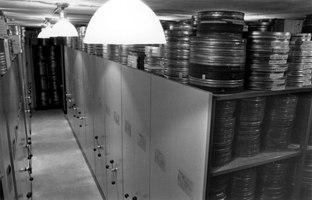 Inside the film vault. Photo © Cinémathèque Québécoise.