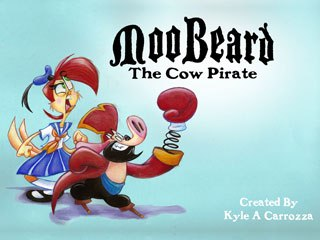 Kyle A. Carrozza's MooBeard the Cow Pirate.