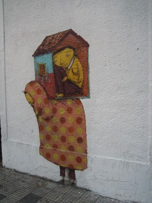 The streets of Sao Paulo feature the best graffiti!