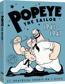 Popeye the Sailor, Volume Three is one compilation from the time that documents the rampant Japanese ridicule. ™ & © Warner Bros. Ent. Inc.