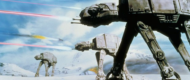 Animating the Imperial Walkers in The Empire Strikes Back earned Tippett an enduring place in the Star Wars galaxy, and solidified his place in the vfx community. Courtesy of ILM.