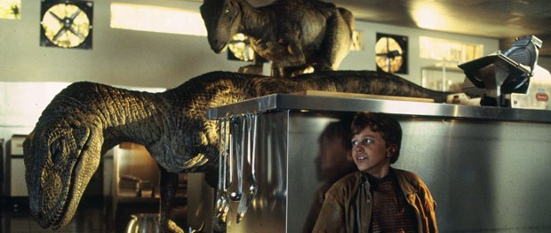 Jurassic Park not only earned Tippett his second Oscar, it ushered in the digital age quicker than anyone was expecting. © Universal Pictures.