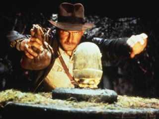 Raiders of the Lost Ark (1981) was the duo's first major project together with Steven Spielberg and George Lucas, starting careers that have endured almost three decades. ™ & © Lucasfilm. All rights reserved.