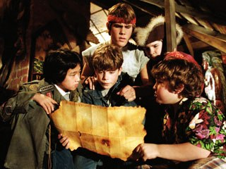 The Goonies. © 1985 Warner Bros. Ent. Inc. All rights reserved. Courtesy Warner Home Video.