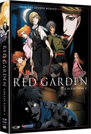 Rose Garden is like New York teen glamour series Gossip Girl, only animated. And with zombie monsters.