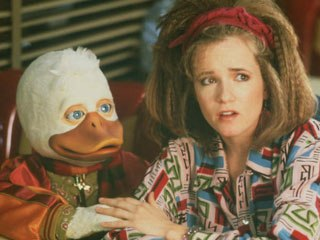 According to Pete Travers, Howard the Duck is the Citizen Kane of duck movies. Courtesy of Universal Studios Home Ent.