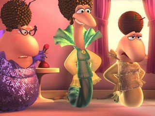 3D animated Sunshine Barry and the Disco Worms is about one worm's thirst for disco stardom. © Crone Film and Disco Ormene/Sola Media.