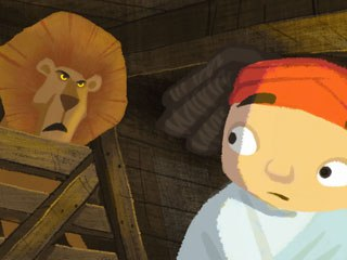 It's really Not the End of the World for U.K.-based Illuminated Film Co., with their new take on the Noah story using 2D animation. © The Illuminated Film Co.