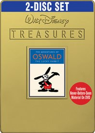 A collection of Oswald the Lucky Rabbit shorts from 2007, after Disney regained the rights to the character. © Disney. All rights reserved.