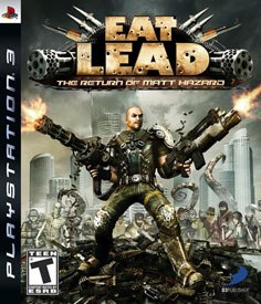 Eat Lead is perhaps the first third-person shooter to spoof the genre. © D3 Publisher.