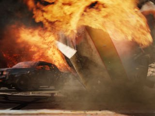 R&H pushed their fire knowledge to the limit to create a realistic inferno for the climax of the chase.