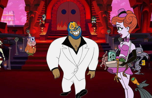 El Superbeasto strolls onto DVD from Starz Media and Film Roman. All images, unless otherwise noted, courtesy of Starz.