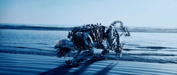 Ravage was one of the trickiest robots to pull off.