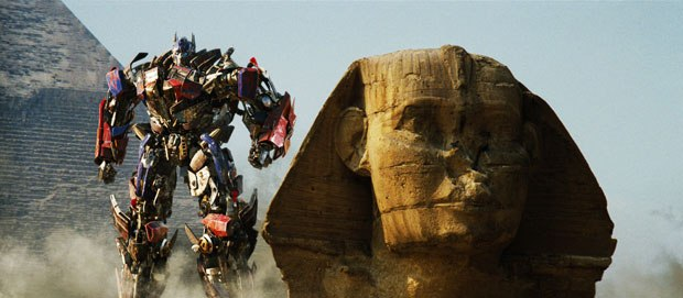 The pyramids in Egypt were one of two locations VFX artist visited in prepping big action sequences.
