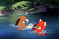 The Fox and the Hound. © 1981 Walt Disney Productions. All Rights Reserved.
