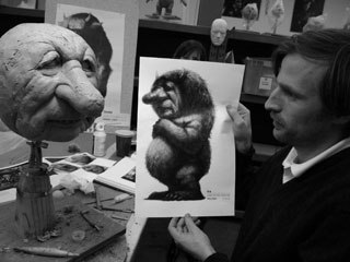 """However, Framestore wound up doing all of the animation and vfx. Jonze was very hands on: directing and helping supervise the delicate and crucial task of """"making sure these creatures lived and had a soul."""" Photo by Sonny Geras."""