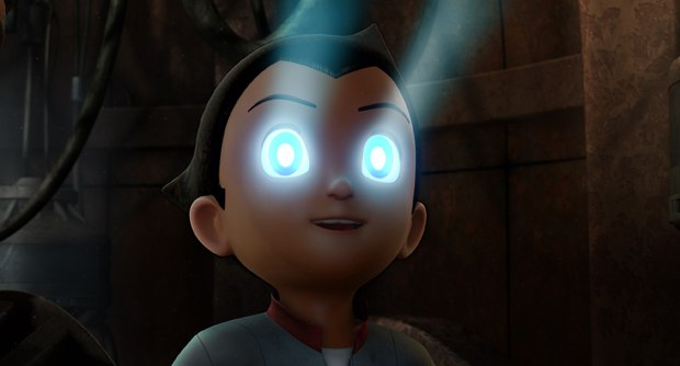 Even though they weren't sure Astro Boy was going to get finished, investment came through and production resumed a month later in Hong Kong.