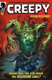 Creepy Comic #1 cover.