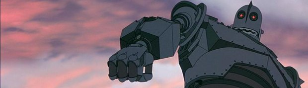 Iron Giant's story was a balance between paranoid '50s sci-fi and The Yearling.