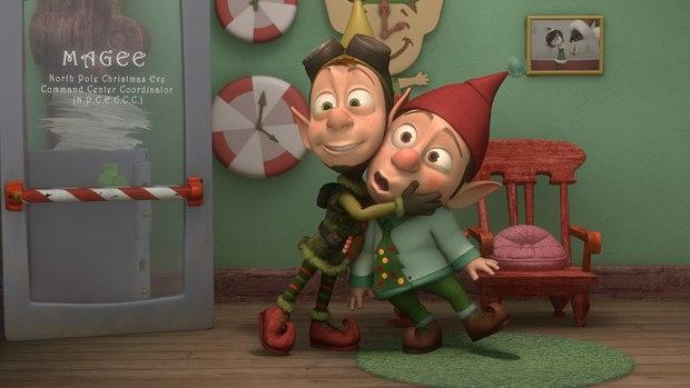 Lanny & Wayne evoke the spirit of Rankin/Bass with their Christmas hijinks.