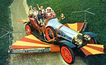 Chitty Chitty Bang Bang and Once Upon a Time in the West shine with Conrad Vernon and Rob Letterman.