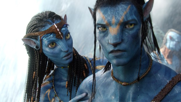 The blue Na'vi proved problematic, so they used green bounce light in conjunction with white to properly convey the faces.