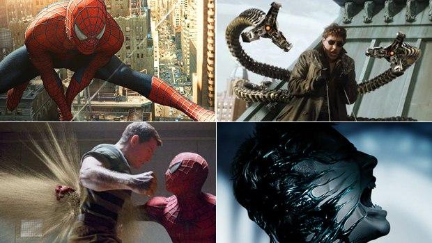 The Spider-Man trilogy