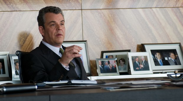 One minor CG enhancement was replacing Barack Obama with George Bush and Nancy Pelosi in the background of Danny Huston's office.