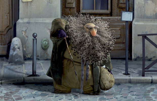 Nicolas Marlet offered rich character designs, but Gaspard's hair required complex simulation.