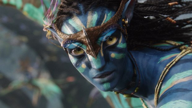 Zoe Saldana's performance truly shines through her Na'vi avatar.